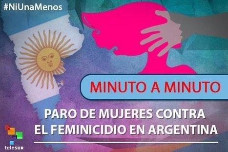 En la ARGENTINA de MACRI, UNA MUJER es ASESINADA cada 30 HORAS - #NiUnaMenos | La R-Evolución de ARMAK | Scoop.it