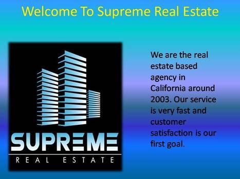 Los Angeles Property Management-Supreme Real Estate | supremerealestate | Scoop.it