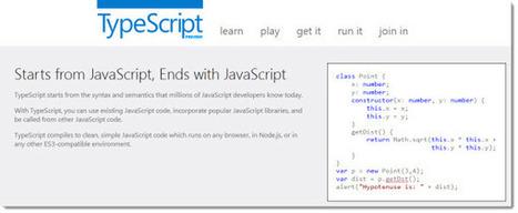 Microsoft presenta un adelanto del nuevo lenguaje de programación, TypeScript | Soy un Androide | Scoop.it