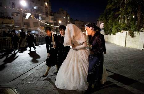 That's some guestlist! Stunning images show huge dynastic wedding between Ultra-Orthodox Jewish families which attracted 25,000 guests   Religion   Scoop.it
