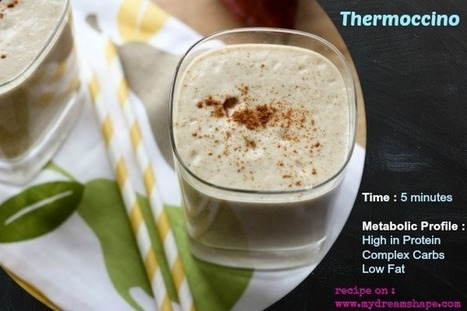 Delicious Slimming Thermoccino Smoothie   Diet And Recipes   Scoop.it