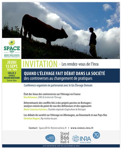 Quand l'élevage fait débat dans la société - Conférence | Agronomie, élevage, eau et sol - Montpellier SupAgro | Scoop.it