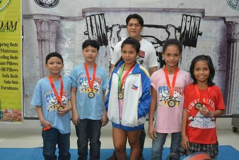 4 ATHLETES CYBER MUSCLE TEAM, AIM NEW PHILIPPINE NATIONAL POWERLIFTING RECORDS - Pinoyathletics.info | Other Sports | Scoop.it