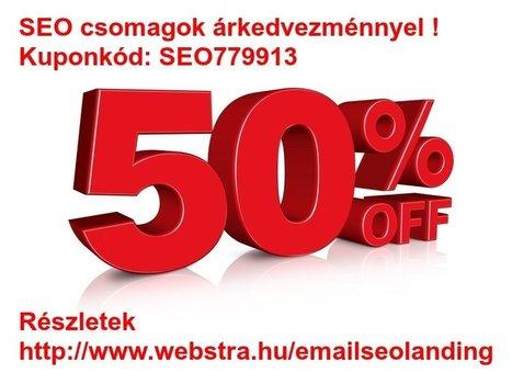 Kedvezményes SEO csomagok 50% árengedménnyel | Keresőoptimalizálás, SEO, ASO, SEM, SMM, PPC, E-commerce, Wordpress Plugins | Scoop.it
