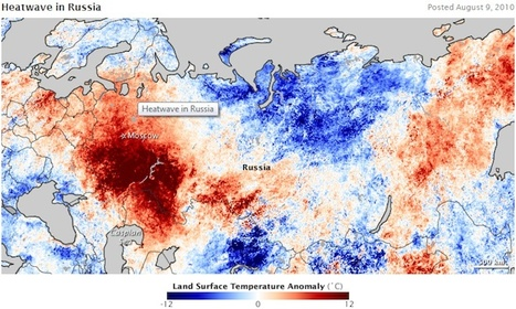 Russian Heat Wave Statistically Linked to Climate Change | Climate change challenges | Scoop.it