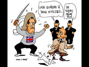Une Union européenne à deux vitesses | Think outside the Box | Scoop.it