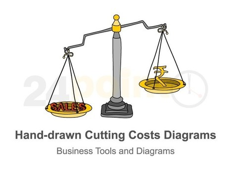 Cutting Costs - Illustrations Slides in Hand-drawn PowerPoint | PowerPoint Presentation Tools and Resources | Scoop.it