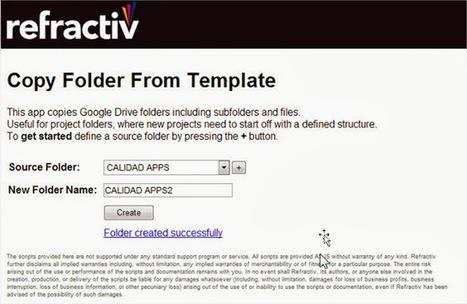 En la nube TIC: Copiar carpetas en Google Drive | google + y google apps | Scoop.it