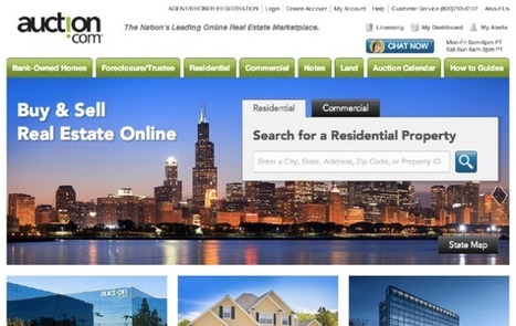 Google Capital Pours $50M Into Real Estate Marketplace Auction.com At A $1.2B Valuation | TechCrunch | Complete Real Estate | Scoop.it