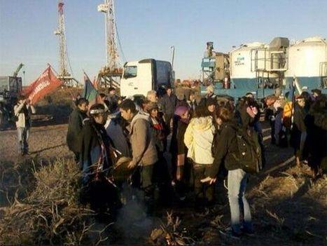 """Mapuches realizaron una """"ocupación pacífica"""" en rechazo al acuerdo con Chevron - El Civico - Argentina   Protesta mapuche contra Chevron   Scoop.it"""