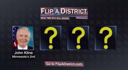 #FireKline: Rep John Kline Makes it to the Final Four of Bill Maher's #FlipADistrict Contest! | Economic Justice | Scoop.it