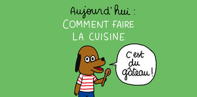 Comment faire la cuisine ? Une BD d'Anouk Ricard | Culture | Scoop.it