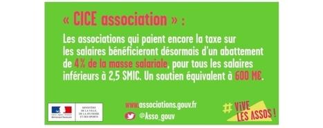 1,2 milliard d'euros d'allègements de la taxe sur les salaires en 2017 en faveur des associations | Associations - ESS - Participation citoyenne | Scoop.it
