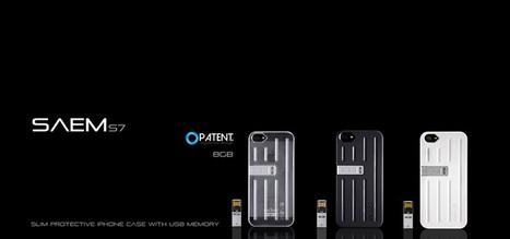 Fiffigt från Veho: SAEM S7 iPhone Case - med inbyggt USB-minne | Tillbehör | Scoop.it