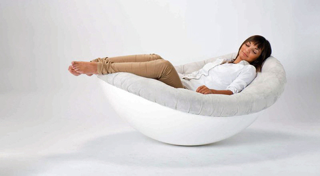 Versatile and Alluring: Odu Rocker and Daybed by Confused Direction - Freshome.com | Arkitektura xehetasunak | Scoop.it