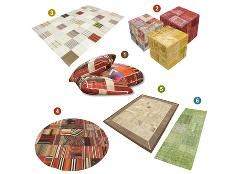 Patchwork - Every piece has its own beautiful story - CarpetVista   Inspiration and decorating with Handmade carpets   Scoop.it