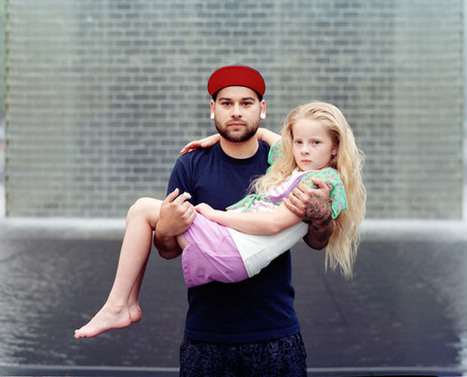 Portraits of Complete Strangers Touching Each Other   interests   Scoop.it