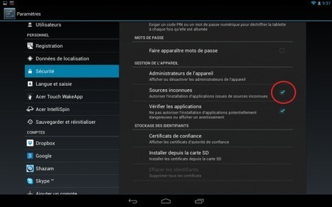 Installer Flash Player sur une machine Android | Time to Learn | Scoop.it