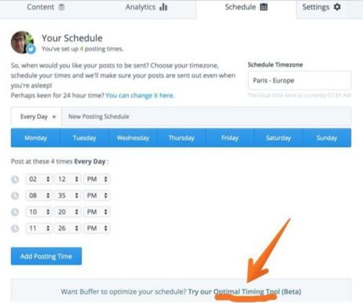 3 outils pour connaitre les meilleures heures pour Tweeter | Les outils de la veille | TIC et TICE mais... en français | Scoop.it