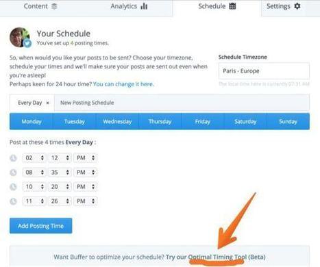 3 outils pour connaitre les meilleures heures pour Tweeter | Time to Learn | Scoop.it