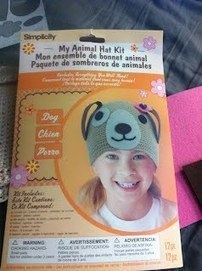 """I made a puppy hat!"" - Ashley Adams 