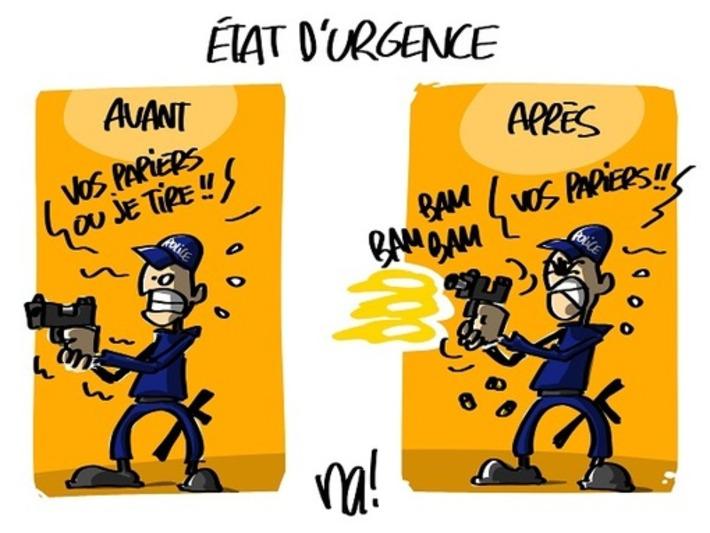 Conséquence de l'Etat d'urgence | Baie d'humour | Scoop.it