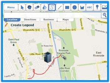 Scribble Maps - Draw on google maps with scribblings and more! | IKT och iPad i undervisningen | Scoop.it