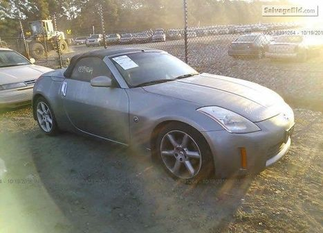 2004 Nissan 350Z on online auction  | Salvage Auto Auction | Scoop.it