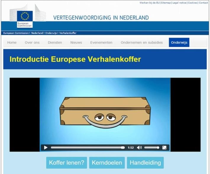 Edu-Curator: De 'Europese verhalenkoffer': Een educatief project van en over de Europese Unie | Educatief Internet - Gespot op 't Web | Scoop.it