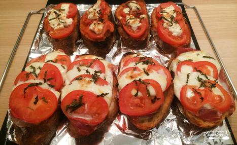 RECETTE DES BRUSCHETTA ITALIENNES | <3 Food | Scoop.it