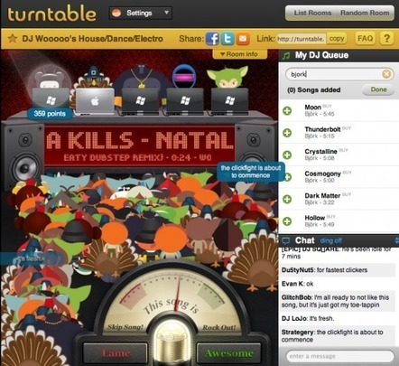 Sweet, you can now use Turntable.fm with Twitter   Technology and Gadgets   Scoop.it