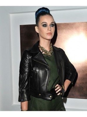 Katy Perry Leather Jacket | Black Quilted Jacket for Womens | Women's Jackets | Scoop.it