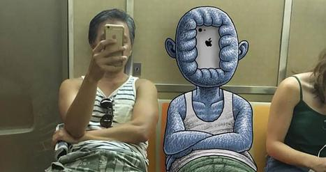 New York's Subway Is Filled With Monsters, And Not Just The Ones You Can See | Art et Publicité | Scoop.it