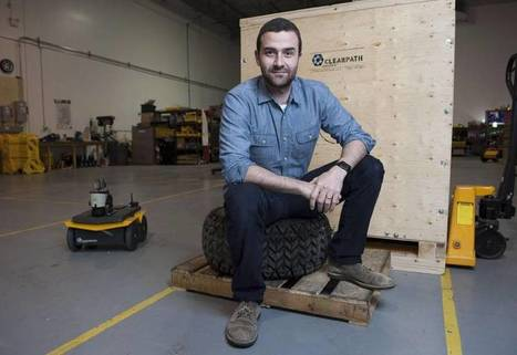 It's a robot's world: Kitchener's Clearpath looks to automated future   Heron   Scoop.it