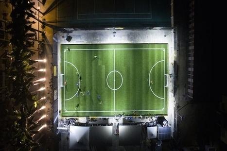 Pavegen : transformer en lumière l'énergie déployée sur les terrains de football | EFFICYCLE | Scoop.it
