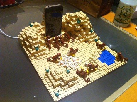 2001: A Space Odyssey Scene in LEGO as iPhone Dock | Digital Pop Art | Scoop.it