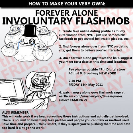 Forever alone flashmob | Ouf-guedin \_o< | Scoop.it