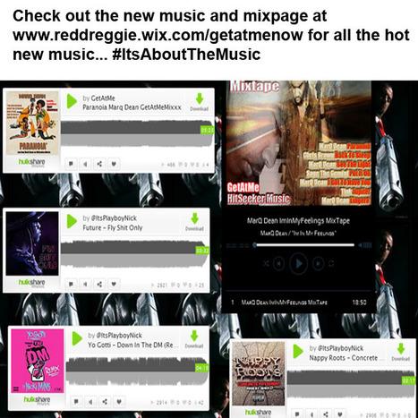 New GetAtMeNow Page  at www.reddreggie.wix.com/getatmenow #ItsAboutTheMusic | GetAtMe | Scoop.it