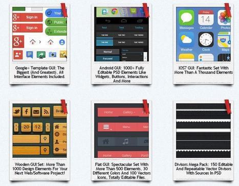 Más de 1000 iconos, botones y PSD editables totalmente gratis | Tutoriales Photoshop, archivos psd, pinceles photoshop, diseño grafico, diseño web, recursos para diseñadores | Recursos diseño gráfico | Scoop.it