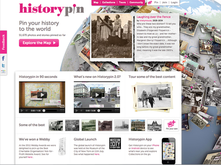 Historypin | Home | More TechBits | Scoop.it