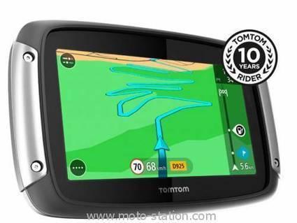 GPS moto TomTom Rider 410 : Nouvelles fonctionnalités | Balade et voyage moto, coté pratique ! | Scoop.it
