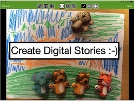 5 iPad Apps to Create Animated Video Stories | iPads in High School | Scoop.it