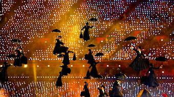 Mary Poppins  en las Olimpiadas de Londres 2012