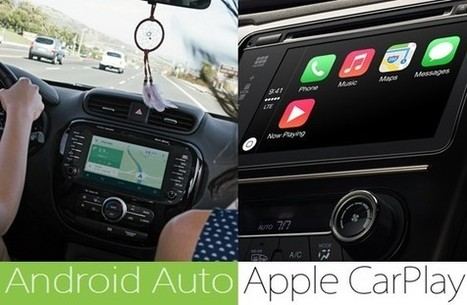 Apple's CarPlay and Google's Android Auto Who will Dominate ? | The Programmer's World | Android - Apple World | Scoop.it