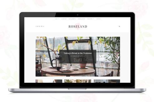 Roseland - A Beautiful WP Blog