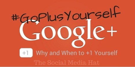 Should You Plus Your Own Plus Posts? | Keep Up With The Web | Scoop.it
