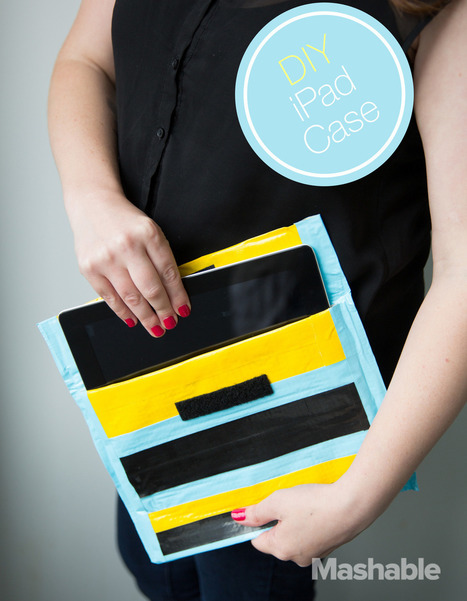 How to protect your tech with a duct tape iPad case - Mashable | iPads in Education | Scoop.it