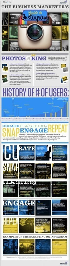 Your Ultimate Guide to Instagram [INFOGRAPHIC] | EPIC Infographic | Scoop.it