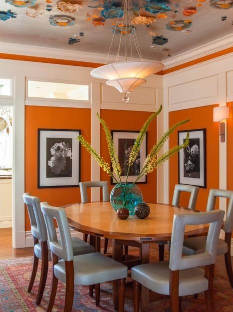 A Pantone Spring 2015 Colored Home - Porch.com | Designing Interiors | Scoop.it