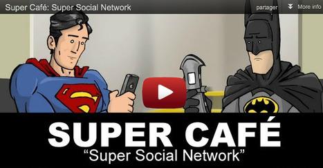 Si les super-héros étaient sur Twitter ! | SocialWebBusiness | Scoop.it